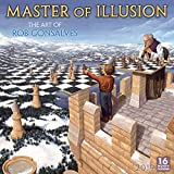 2019 Master of Illusion - The Art of Rob Gonsalves 16-Month Wall Calendar: by Sellers Publishing, 12'' x 12'' (CA-0396)