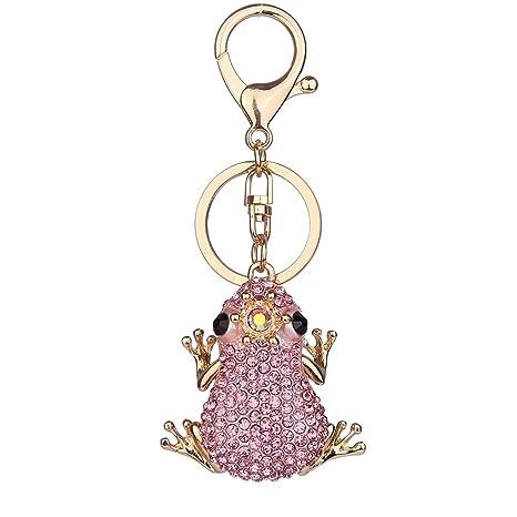 LafyHo Diamantes de imitación de la Rana de la Mujer ...
