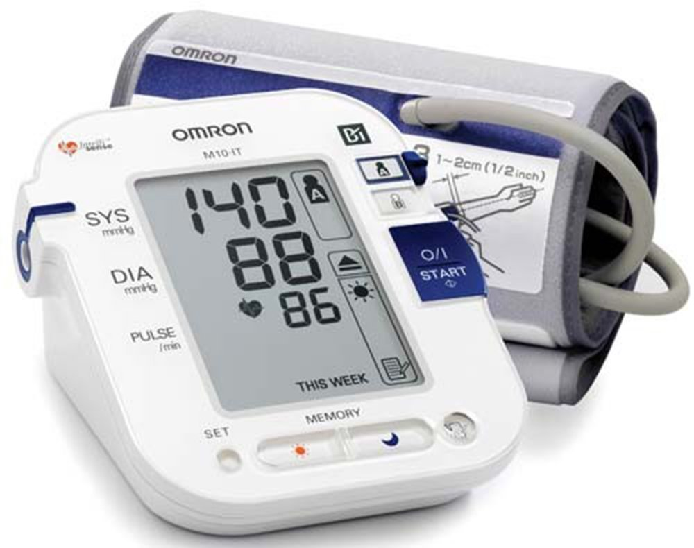 Omron M10-it Clinically Validated Easy Use Automatic Blood Pressure Monitor by Omron