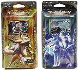 BOTH Pokemon TCG Sun & Moon Burning Shadows Theme Decks - Ninetales