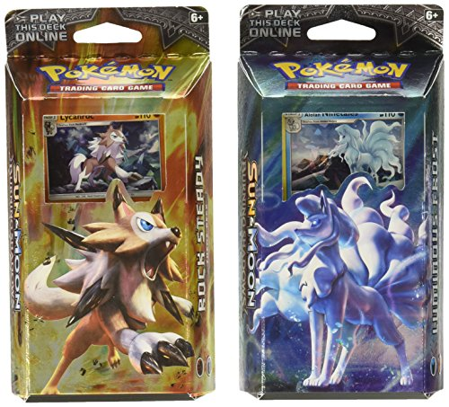 Pokemon Both TCG Sun & Moon Burning Shadows Theme Decks - Ninetales & -
