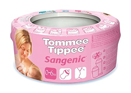 Tommee Tippee para pañales envoltorio 6 months-plus Casete