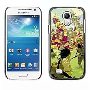 Ihec Tech Criaturas mística tierra de cuento de hadas / Funda Case back Cover guard / for Samsung Galaxy S4 Mini i9190
