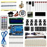 Osoyoo 2016 New UNO R3 Board Projects Super Starter Kit For Arduino DIY (20 items)
