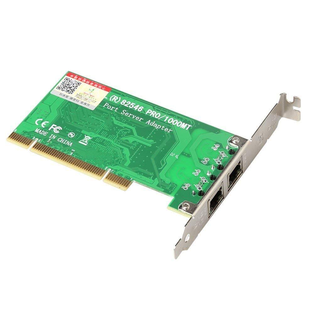 DIEWU Official for Intel Chipset 82546 Dual Port Gigabit 8492MT PCI Server Network Card 1000M RJ45 NIC Ethernet Desktop Adapter (Intel8492MT(82546) by DIEWU Official (Image #5)