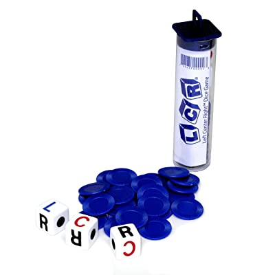 LCR Family Game (colors may vary): Toys & Games