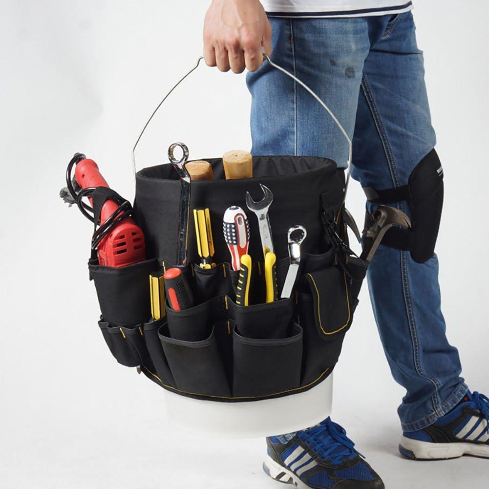 outils de jardin Sac de rangement pour tournevis outils de mat/ériel charpentier /électricien Outil de r/éparation Organiseur Sac Techniciens et Peintres plombier