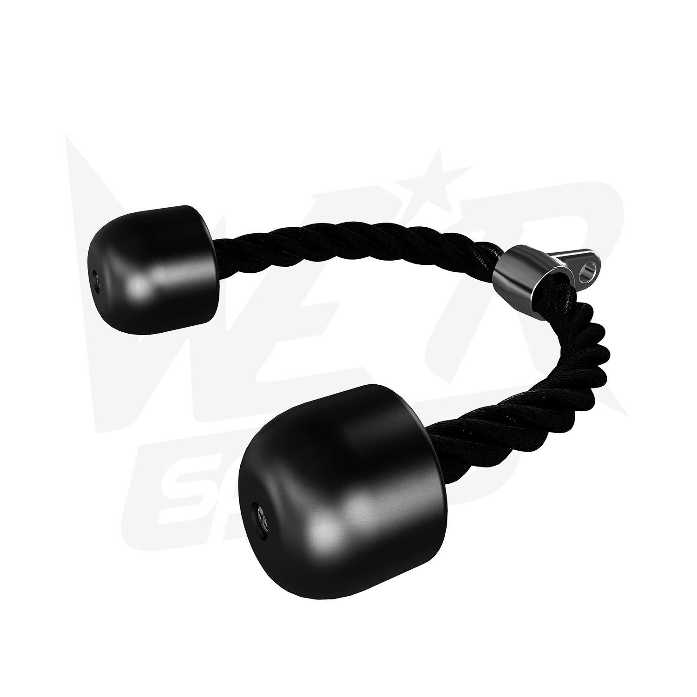 We R Sports Triceps Tirer Corde Manipuler Attachement Gym Machine Pousser Tirer vers Le Bas Câble Multiples Gym