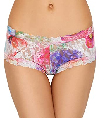 fa7561fd5fa Hanky Panky Women s Impressionista Boyshorts at Amazon Women s Clothing  store