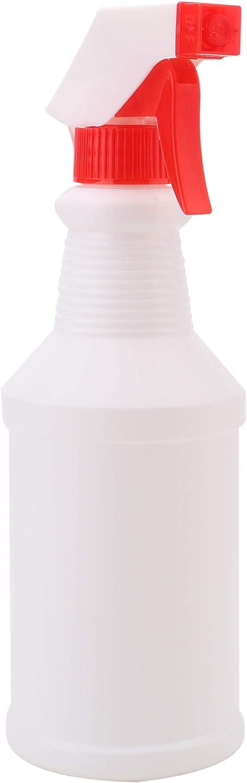 Fasmov 16 oz Empty Plastic Spray Bottles Leak Proof Adjustable Nozzle-Pack of 8