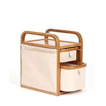 Yvonnelee Bambus Schrank Schublade Aufbewahrungsbox Schreibtisch
