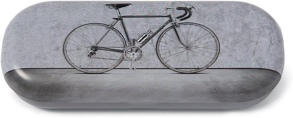 Catseye Hard Eyeglass Case Bicycle