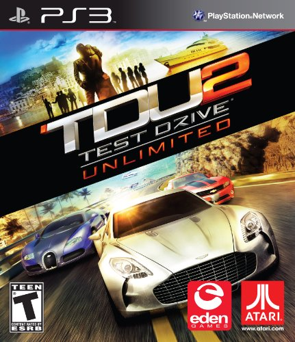 2011 Playstation 2 Game - Test Drive Unlimited 2 - Playstation 3