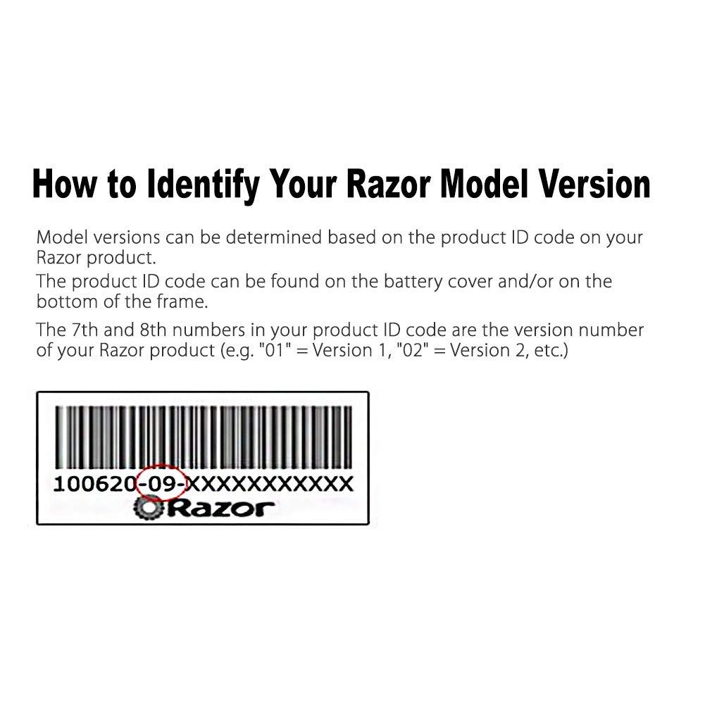 LotFancy 36V Controller for Razor MX500(V21+), MX650(V14+), Razor EcoSmart Metro Electric Scooter(All Vertions), RSF650(All Version) Dirt Rocket, Part Number: W15165070015, Model: HB3650-TYD6-FS-ROHS by LotFancy (Image #6)