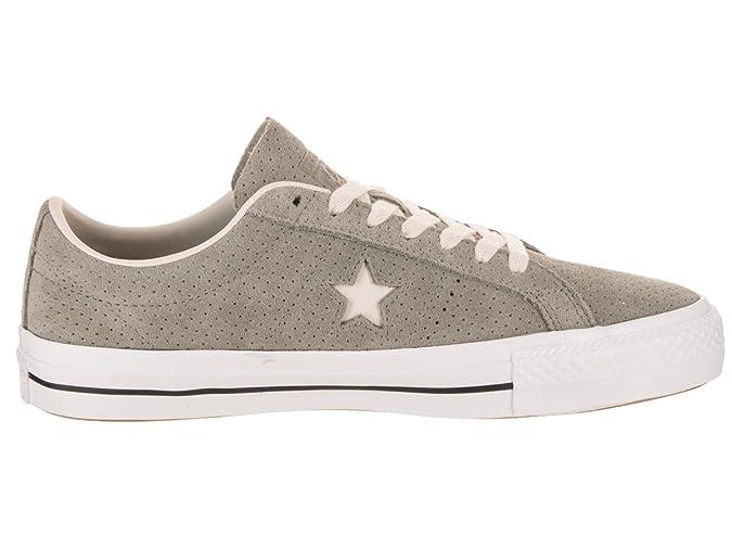 Converse Damen Unisex EIN Star Pro Ox Skate Schuh 8 5 US 10 US 8 5 D (M) US 10 B (M) US Dunkler StuckSchwemmholz Weiß B075TG68LQ