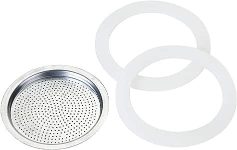 Rosseto Blisters 2 juntas + filtro para cafetera italiana aluminio clásico y melanina, 14 Tasses: Amazon.es: Hogar