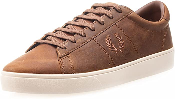 Spencer Waxed Leather Fashion Sneaker