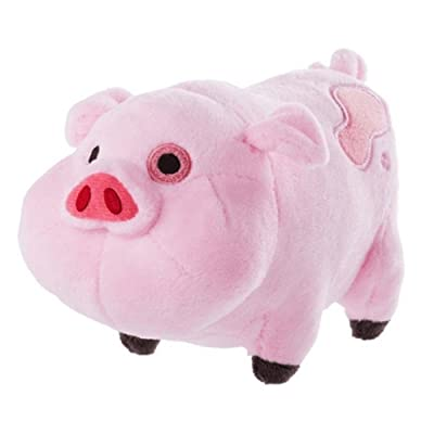 """Gravity falls Waddles Pig Mabel Barfing Gnome Plushes Dolls Kids Toy 7"""" with Tag (Waddles Pig): Toys & Games"""