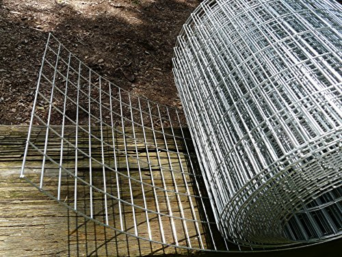 12″ wide 14 gauge Stainless Steel 1″ x 2″ welded wire mesh hardware cloth sold per foot