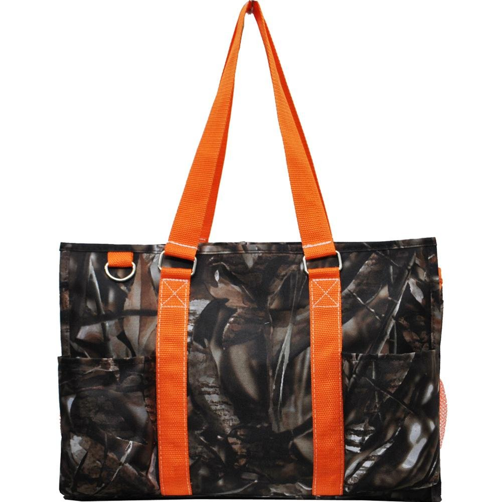 N Gil All Purpose Organizer Medium Utility Tote Bag 3 (Camo Orange)