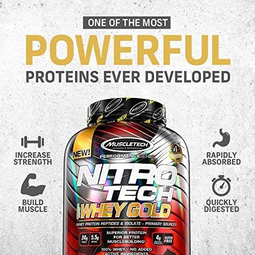 Muscletech Performance Series Nitro Tech 100% Whey Gold (5,5lbs) 2508 g