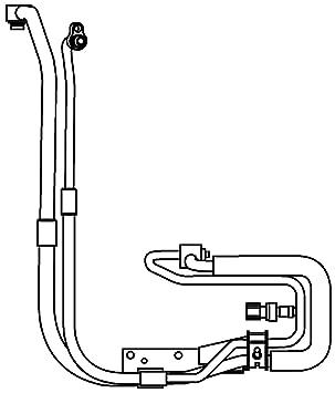 BEHR HELLA SERVICE 9GS 351 337-651 *** PREMIUM LINE *** Tubería de baja/alta presión, aire acondicionado, de compresor aire acondicionado a condensador: ...