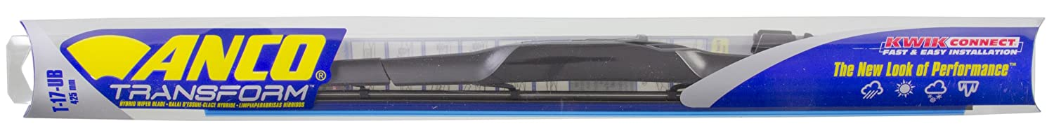 Amazon.com: ANCO T-17-UB Transform Hybrid Wiper Blade - 17