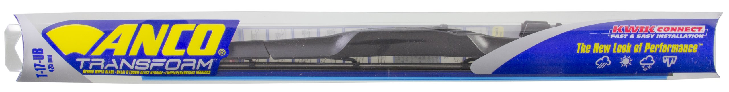 Pack of 1 12 Anco 53-12 Heavy Duty Wiper Refill