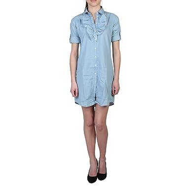 U.S. POLO - Vestido - para mujer azul azul X-Small: Amazon.es ...