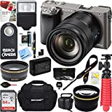 Sony ILCE-6000 Alpha a6000 Interchangeable Lens Camera Body + 16-70mm Mid-Range Zoom Lens + Accessory Bundle