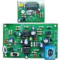 Infrared Burglar Alarm Tx / Rx Assembled Electronic Circuit Board : FA505