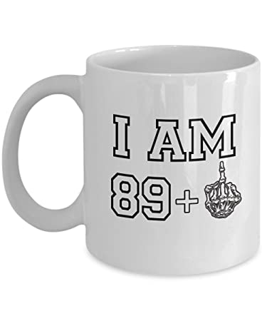 Amazon Happy 90th Birthday Mug 1927 Middle Finger