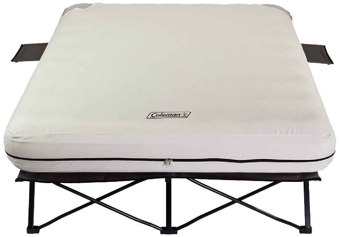Amazon.com : Coleman Airbed Cot - Queen : Camping Air Mattresses : Sports &  Outdoors