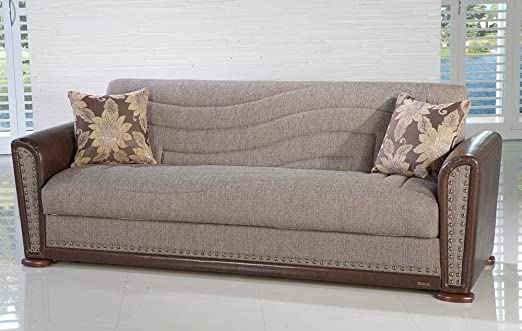 Alfa Sofa Bed in Redeyef Brown