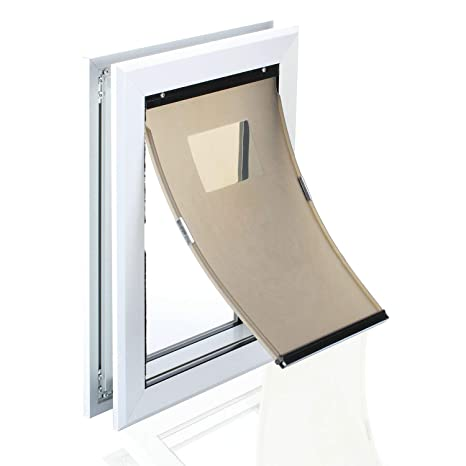 Amazon Hrtcj Dog Door Mavric Large Dog Door Magnetic Closure