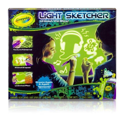 Crayola Light Sketcher Glowfitti Spray