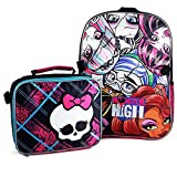 Best Monster High High School Back Packs - Monster High Backpack and Lunch Bag Set Review