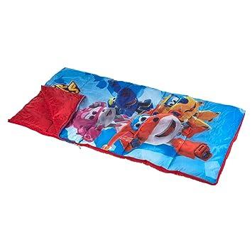 Super Wings - Saco de dormir 70x140 cm (ColorBaby 77020): Amazon.es: Juguetes y juegos