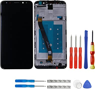 Swark - Pantalla LCD Compatible con Huawei Mate 10 Lite RNE-L01 RNE-L21 RNE-L23, Incluye Marco y Herramientas: Amazon.es: Electrónica