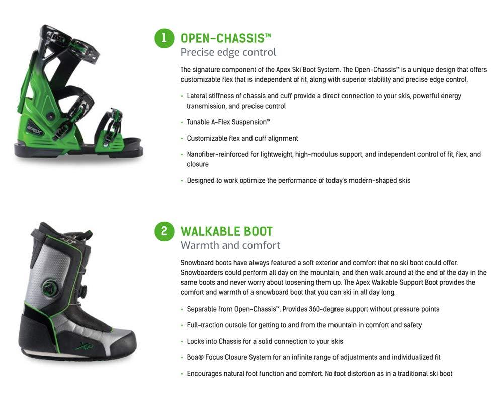 Apex HP-L All-Mountain Ski Boots