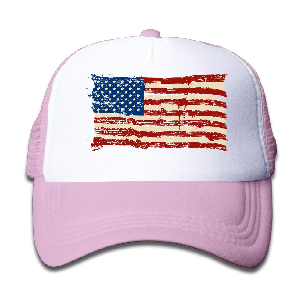 d13b49e5acec9 Amazon.com  Kids American Flag US Trucker Hats