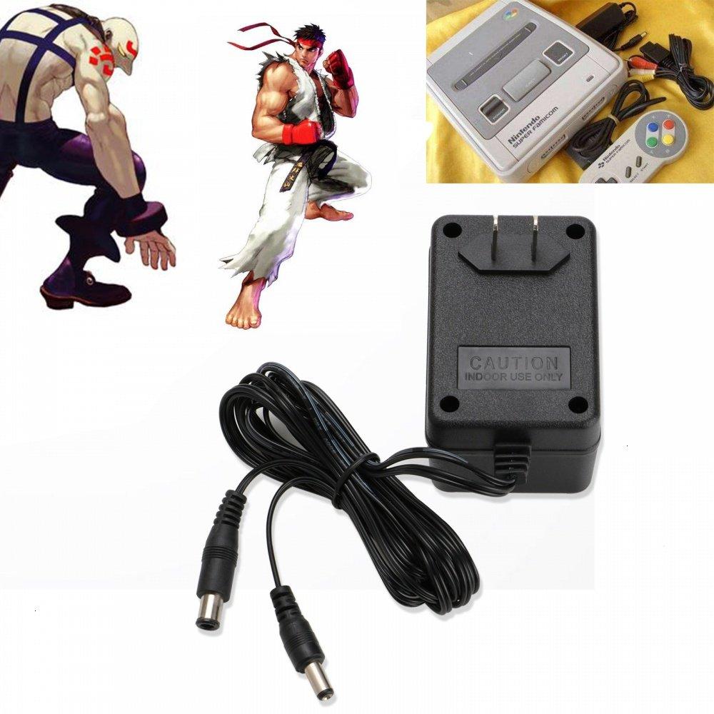 Super Nintendo AC Adapter Power Supply: Video Games