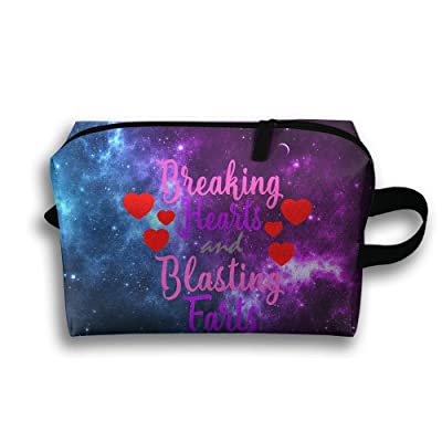 80%OFF Breaking Hearts And Blasting Farts Waterproof Travel Bag Portable Multi-function Handbag Cosmetic Bag