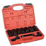 DA YUAN 10Pcs Oxygen Sensor Socket Set Sensor Oil