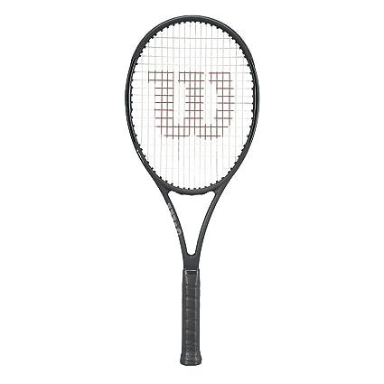 """Wilson Pro Staff 97LS Matte Black 18x16 Tennis Racquet (4 3/8"""" Grip"""