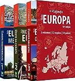 capa de Guia Criativo Para o Viajante Independente na Europa - Caixa com 3 Volumes