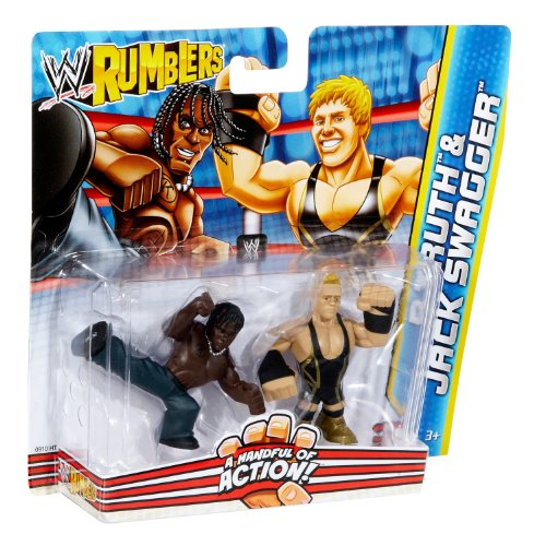 WWE Rumblers R-Truth and Jack Swagger Figure 2-Pack (Jack Swagger Toys)