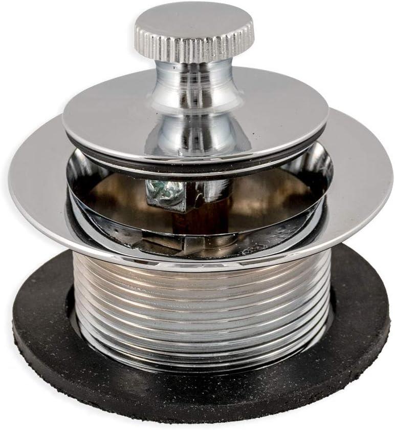 "EZ-FLO 35233 Lift-n-Turn Bathtub Drain Assembly 1-1/2"", Chrome"