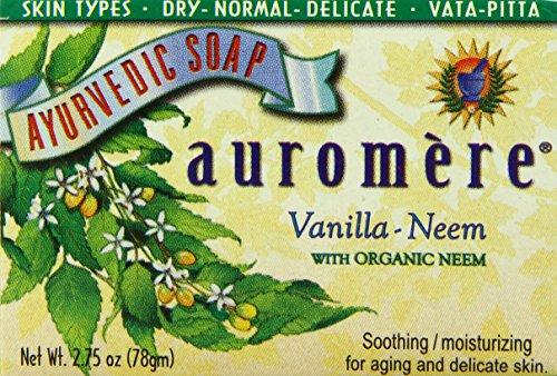 auromere-ayurvedic-bar-soap-vanilla-neem-275-ounce