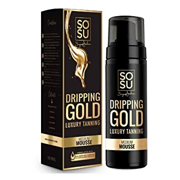 53ec92bdd06 SoSu by Suzanne Jackson Dripping Gold Tan Mousse medium 200ml ...